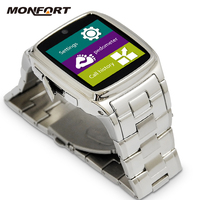 Fashionable Business Classic Style Cheapest Touch Screen wrist smart watch mobile phone with tv