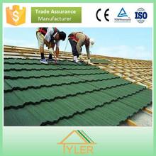 aluminum and zinc galvanized steel stone coated roof tile