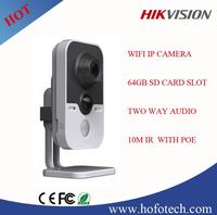 Hikvision IP Camera, webcam Cloud & PIR Network cube camera, wifi ip camera