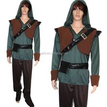 2015 new design adult game clothing suit samurai costume for men