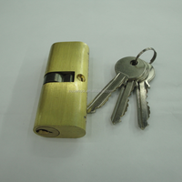 70mm Big Oval Brass Lock Cylinder Safe Lock Parts
