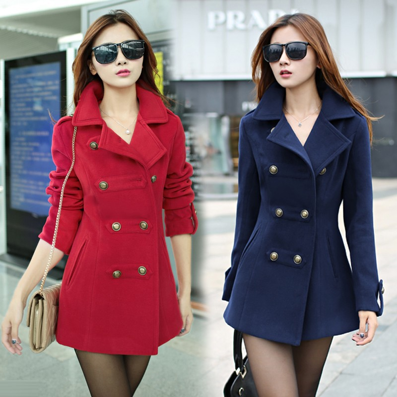 outerwear-coats-Woolen-outerwear-overcoat-female-2014-spring-women-s-winter-long-slim-cotton-lapel-overcoat