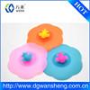 Custom Print Logo Portable new design tea cup cover/Airtight Silicone Mug Cover