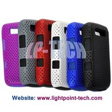Detachable Reticular silicone mobile phone case for BlackBerry Bold 9700