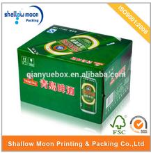 wholesale cardboard cheap beer bottle carrier