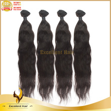 Hot Alibaba Hair ! Unprocessed Raw Silky Straight Hair Weft , Peruvian Virgin Natural Silky Straight Human Hair