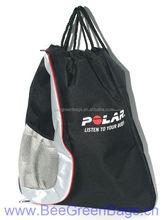 Polyester Net mesh cloth side pocket fashion 2014 fashion trend cheap backpack bag