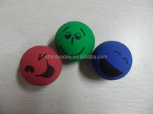 Assorted smile bouncing balls / high bouncing ball