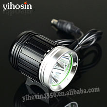 Powerful 5-mode 3T6 Bicycle Light Set CREE XM-L T6 Outdoor Fun & Sports Lighting Bikes Torch With 6400mAh Battery Pack
