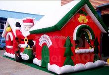 Inflatable Christmas Santas House, Inflatable Grotto