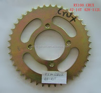 428 42T RX100 CRUX Motorcycle Chain and Sprocket Kits