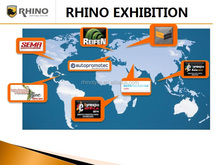RHINO SOLID TYRE FOR BOBCAT