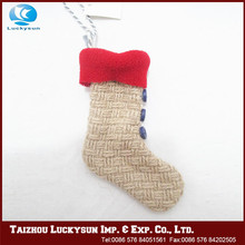 Christmas hanging ornament safe material christmas stocking