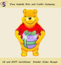 winnie cheap cartoon fly top toy balloon
