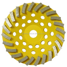 Diamond Swirling Turbo Cup Wheels for Grinding Stone