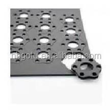 Custom laser cutting machine spare parts sheet metal fabrication