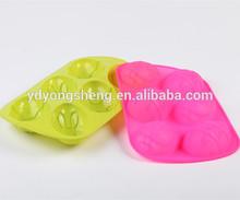 Hielo en forma de huevo, helado con forma de huevo, molde de silicona ecológico para hielo