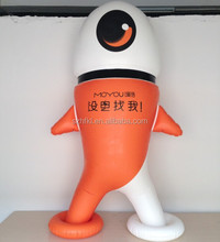 perfect inflatable cartoon characters for outdoor advertising display
