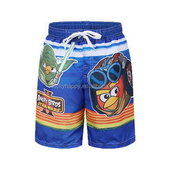 2015 Beachwear& swimwear boy stocklot short pants