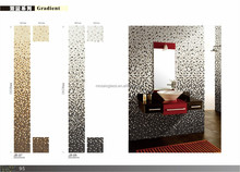glass and metal mixed mosaic glass metal mixed mosaic tiles random strip glass mosaic tile
