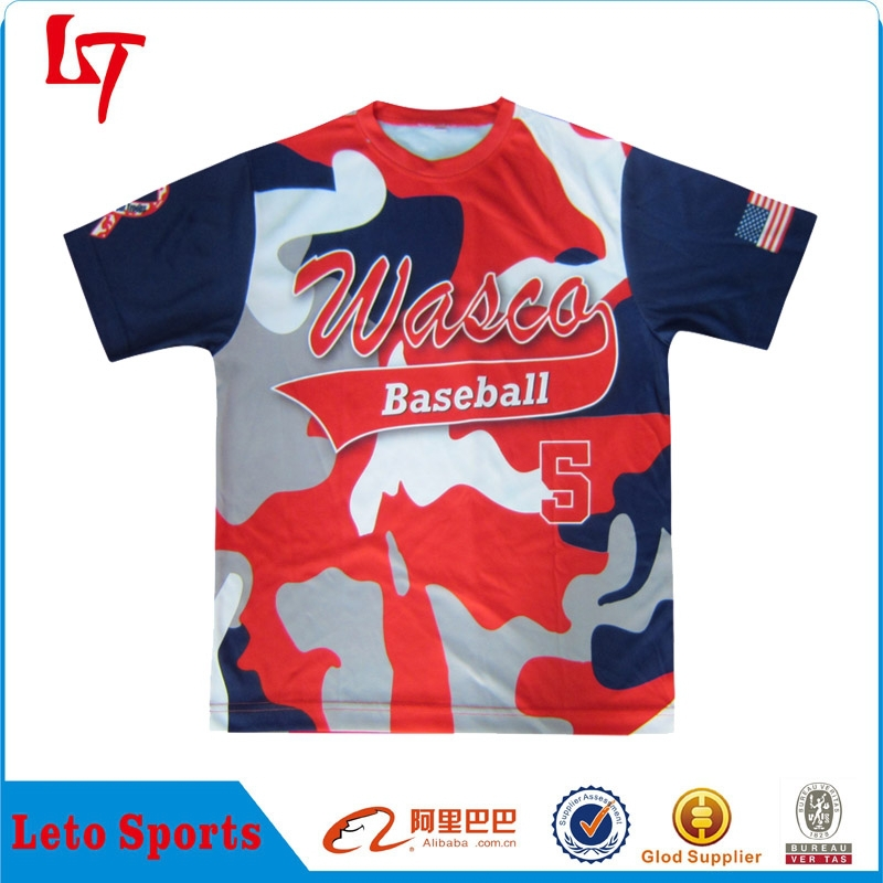 Wholesale custom blank camo t shirts digital t shirt Custom t shirt digital printing