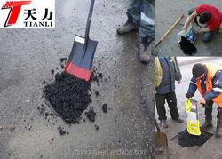 cold asphalt patch asphalt in a bag