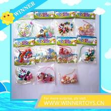 Colorful cheap kids DIY bracelets beads
