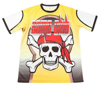 Latest design dye sublimation printing custom logo and artwork design your own printed t shirt