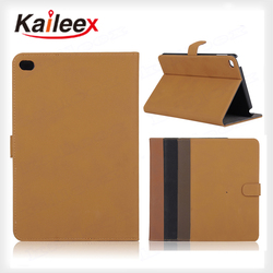 7.9 Inch Flip Good PU Leather Case For Ipad mini 4 Book Leather Case
