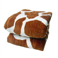 Thick Cow Coral Fleece Blanket Made In China
