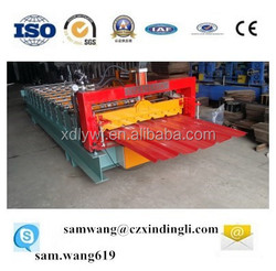color steel metal roof tile/sheet roll forming machine,tile making machine