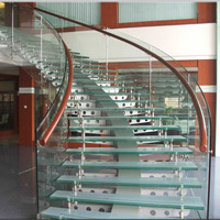 safety tempered glass panel stairs,stalinite,toughened glass for stairs