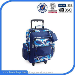 2015 High Quality Kids School Trolley Bags