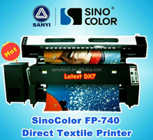 Flag Polyester and Fabric Printing, Sublimation Printer, 1.8M SinoColor FP-740