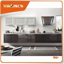 The best choice factory directly shaker panel door hard wood china kitchen furniture design