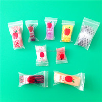 Biodegradable Apple Mini ZipLock Bag With D2W