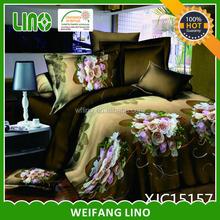 high quality 100% polyester microfiber home comforter bedding set