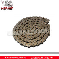 Colored motorcycle reverse gear chain drive