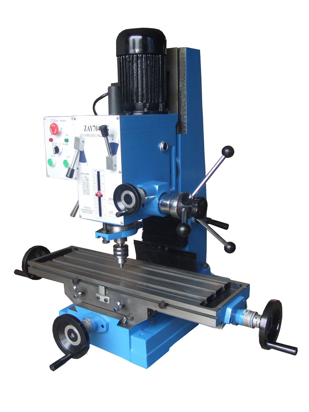 Zay7040fg Factory Sale Cheap Mill Bench Top Milling And