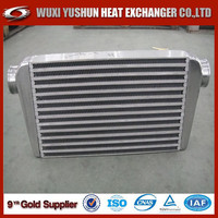 High performance custom made aluminum intercooler plate/ car radiator