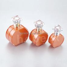 flat round acrylic/MS cosmetic bottle/lotion bottle,