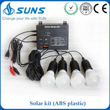 One touch express manufacturer ABS plastic portable mini close loop solar system