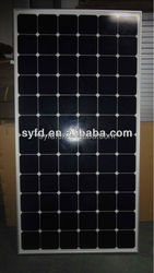 HOT SALES 270W mono solar panel for solar system with TUV IEC CE ROHS certified