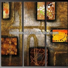 Decorative High quality hand-painted abstract group oil painting Modern wall art BMS3H003