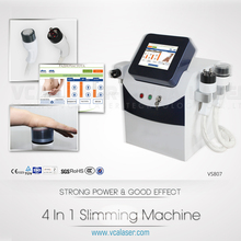 2015 most popular in United Kingdom multifunction Cavitation+Vacuum+RF+Diode Laser for slimming and skin rejuvenation machine