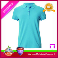 wholesale plain polo t shirts for printing, golf women polo sport t shirt China clothing manufacturers
