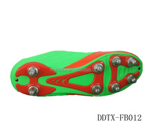 DDTX-FB012 new style colorfule American football shoes with durable spike