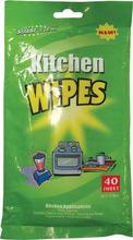 Parete della cucina pulizia salviettine umidificate, salviette di rimozione olio da cucina professionale