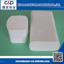 100% Virgin Wood Pulp Paper Hand Towel Wholesale