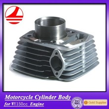 Aluminum WY150CC Motorcycle Cylinder Body Tricycle Spare Parts
